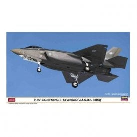 Hasegawa 1:72 F-35 Lightning II (A Version) J.A.S.D.F. 301SQ Aircraft Model Kit