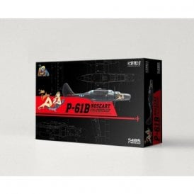 Great Wall Hobby 1:48 P-61B Black Widow NOSEART /w Full Underwing Store & Special Metal Nose Weight Aircraft Model Kit