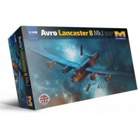 Hong Kong Models 1:48 Avro Lancaster B Mk I Aircraft Model Kit