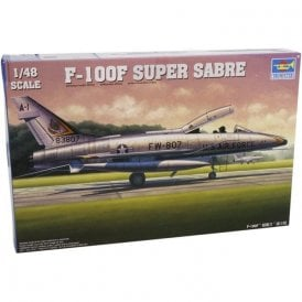 Trumpeter 1:48 02840 F-100F Super Sabre Aircraft Model Kit