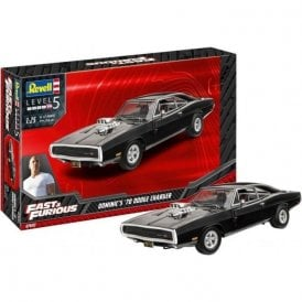 Revell 1:25 Dominic's 1970 Dodge Charger (Fast & Furious) Car Model Kit