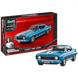 Revell 1:25 1969 Chevy Camaro Yenko (Fast & Furious) Car Model Kit