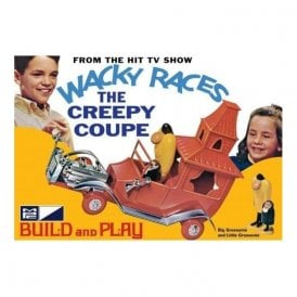 MPC 1:32 Wacky Races - Creepy Coupe SNAP Car Model Kit