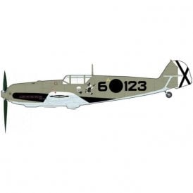 Hobby Master 1:48 BF 109E-3 ' Spanish Civil War ' Oblt. Hans Schmoller-Haldy, 3.J/88, March 1939