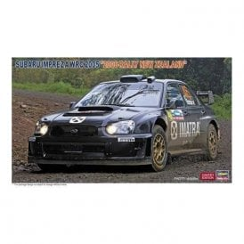 Hasegawa 1:24 Subaru Impreza WRC 2005 Valentino Rossi 2006 Rally New Zealand Car Model Kit