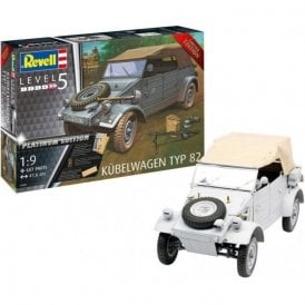 Revell 1:9 Kübelwagen Typ 82 (Platinum Edition) Military Model Kit