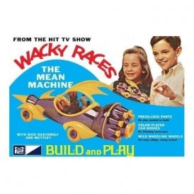 MPC 1:32 Wacky Races - Mean Machine (SNAP) Car Model Kit