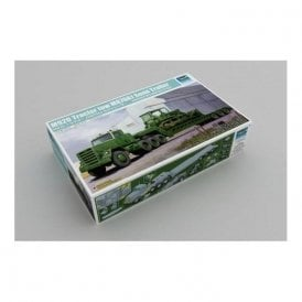 Trumpeter 1:35 01078 M920 Tractor towing M870A1 Semi-trailer (dozer not included) Military Model Kit